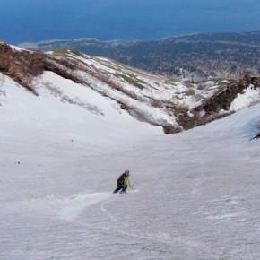 利尻岳スキー 2009/4/30-5/4