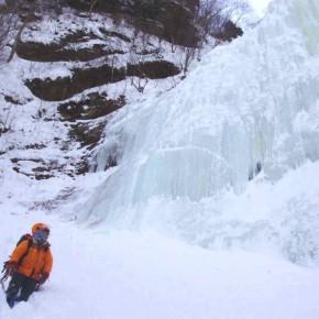 層雲峡アイスクライミング 2010/2/11-14