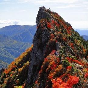 四万十川 滑床渓谷 石鎚山 2010/10/8-11