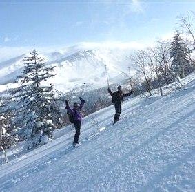 富良野 三段山 山スキー 2011/2/10-14