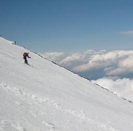 富士山スキー 2010/5/16