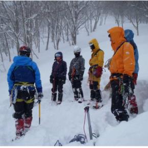 雪崩&雪上訓練 (谷川岳) 2012/2/11-12