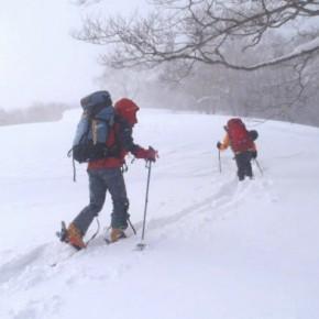 尾瀬 笠ヶ岳 2013/2/23-24