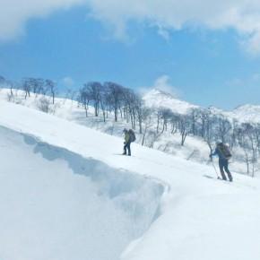 浅草岳 左岸尾根 2014/4/12-13