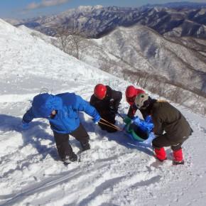 谷川 雪山総合訓練 2015/1/24-25