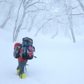 那須 甲子山〜旭岳(中退) 2015/1/31-2/1