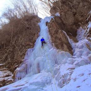 西上州 昇天の氷柱、相沢の氷柱、カブコロン、ナメネコフォール 2015/3/14-15