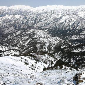 尾瀬 笠ヶ岳山スキー 2020/3/21