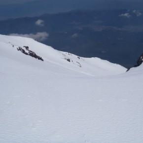 富士山・須走口スキー 2012/5/19