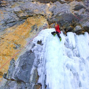 Canada Canmore〜Banff Ice Climbing 2013/12/22-2014/1/5