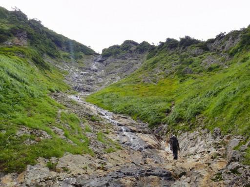 11祓川大滝250mを望む