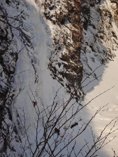 滝沢の氷瀑