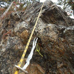 赤岩岳正面岩稜やぶパインクライミング